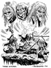 Macbeth Characters Clipart Image