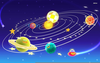 Free Animated Solar System Clipart Image