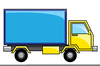 Free Moving Truck Clipart Image