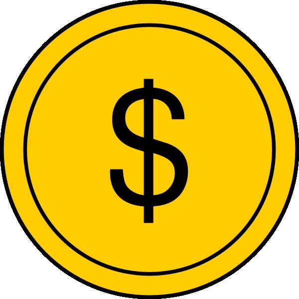 Coin 1 Clip Art at Clker.com - vector clip art online ...