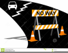Road Work Sign Clipart Image
