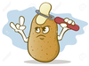 Potato Chips Clipart Free Image