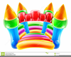 Clipart Of Bounce House Image