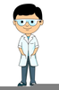 Science Goggles Clipart Image