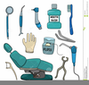 Dentist Tools Cartoon Image