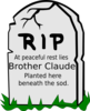Brother Claude New Clip Art