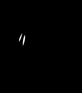 rooster full body black white clip art at clker com vector clip