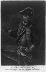 George Washington, Esq R. - General And Commander In Chief Of The Continental Army In America  / Done From An Original, Drawn From The Life By Alex R. Campbell, Of Williamsburgh In Virginia ; Ioh. Martin Will Excud. Aug. Vind. Image