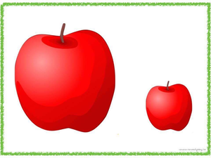 Apple small. Clipart free images at