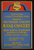 Southside Parent Teachers Assn. Presents Southside Varsity Band Concert, High School Auditorium, Rockville Centre Benefit Students Loan Fund. Image