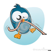 Bird And Worm Clipart Image
