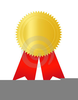 Free Clipart Certificate Ribbon Image