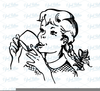 Drinking Water Clipart Free Image