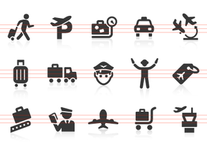 0103 Airport Icons 2 Image