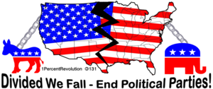 131 Divided Usa Will Fall  Image