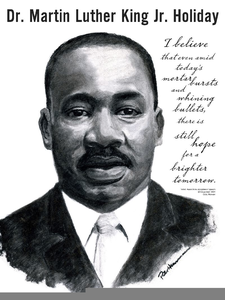 Free Clipart Of Dr Martin Luther King Jr Image