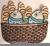 Christian Clipart Loaves Fishes Image