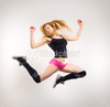 Stock Photo Dance Jump Image