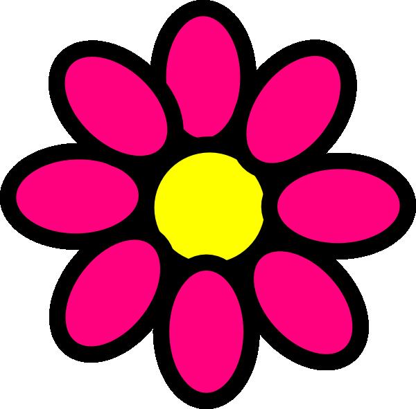 pink flower clip art at clker com vector clip art online royalty rh clker com girl clipart black and white girl clip art free