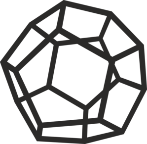 Dodecahedron Clip Art