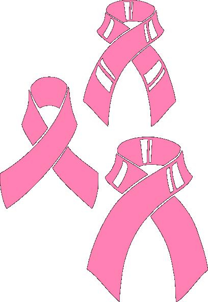Pink Ribbons Clip Art at Clker.com - vector clip art ... Pink Ribbon Clipart
