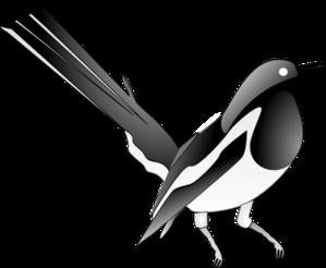 Oriental Magpie Robin Clip Art