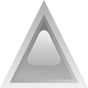 Led Triangular Grey Clip Art
