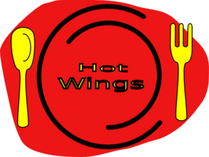 Hot Wings Clip Art