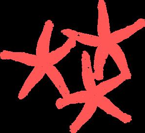 Coral Starfish Clip Art at Clker.com - vector clip art ...