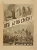 Her Atonement An Original American Play. Clip Art