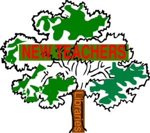 New Teachers & The Library Clip Art