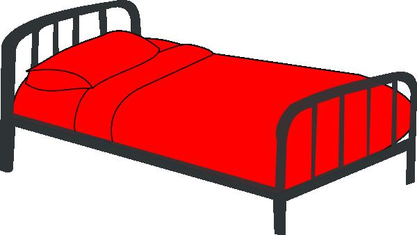 Clip art bed