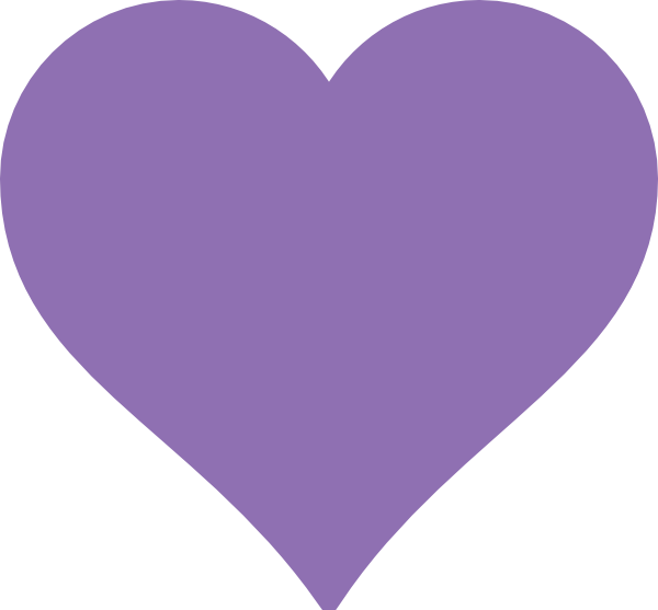 purple heart clip art at clker com vector clip art online royalty rh clker com purple heart clipart free purple heart clipart png