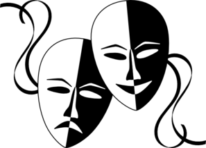 drama masks dsf clip art at clker com vector clip art online rh clker com drama clip art free drama club clip art