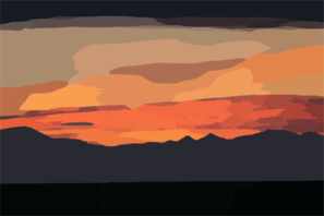 Sunset Clip Art