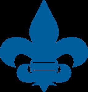 cub scout blue fleur de lis clip art at clker com vector clip art rh clker com eagle scout emblem clip art boy scout merit badge clip art