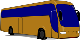 Tour Bus Fleet Clip Art