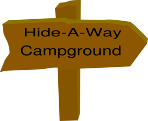 Hide A Way Campground Clip Art