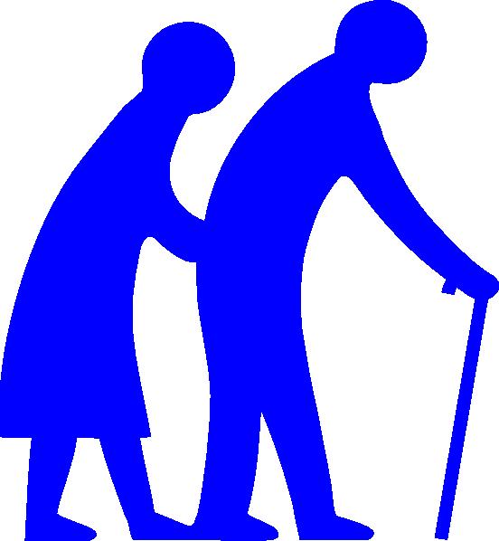 senior citizen blue clip art at clker com vector clip art online rh clker com senior citizen clipart free senior citizen exercise clipart