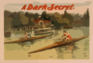 A Dark Secret Clip Art