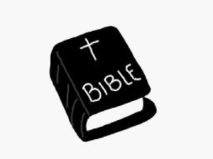 Bible Black And White Clip Art