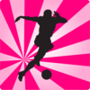 Soccer Player Rays Clip Art