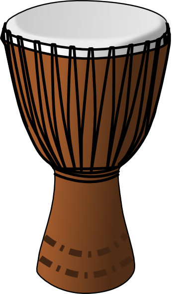 Djembe Drum Clip Art at Clker.com - vector clip art online, royalty ...