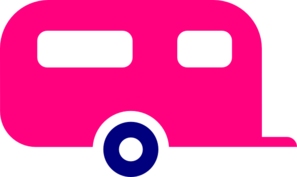 Hot Pink Trailer Clip Art