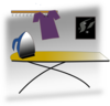 Ironing Table Clip Art