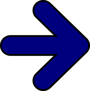 Blue Arrow Right Clip Art