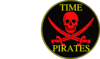 Pirate Skull And Swords W/borders And Tag Clip Art