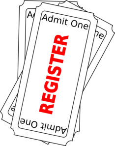 Register Ticket Button Vert2 Clip Art