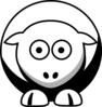 Sheep Brooklyn Nets Team Colors Clip Art