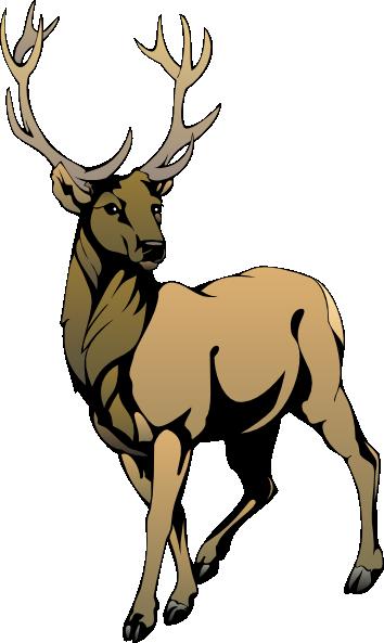 Reindeer 3 Clip Art At Clker